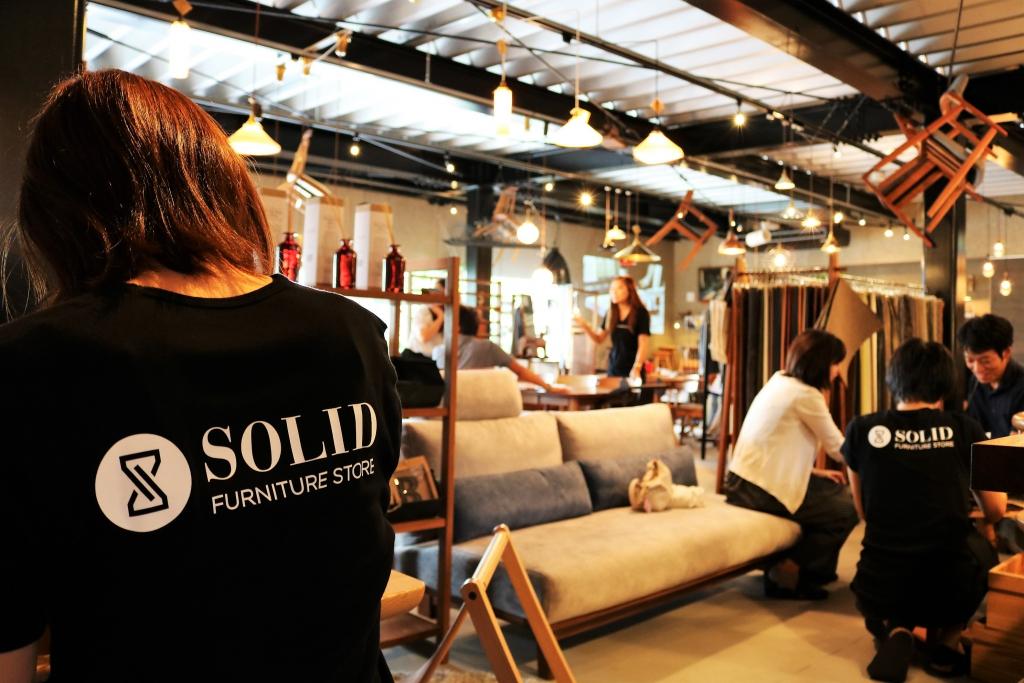 SOLID LABO 開催 ミヤモト家具 2