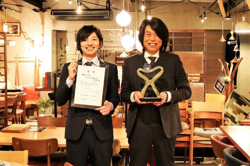 ベストショップコンテスト2017 SOLID FURNITURE STORE 富山 ミヤモト家具