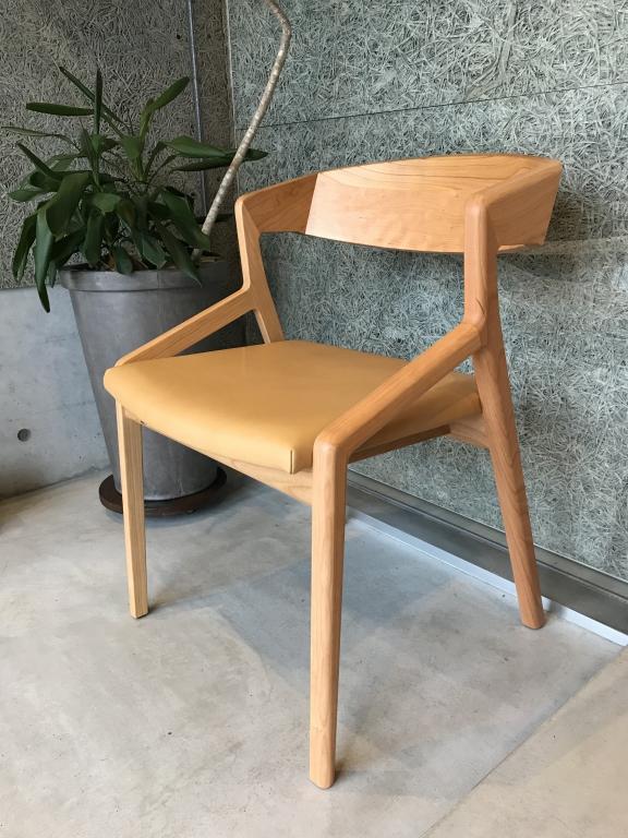 LID、ミヤモト家具、富山、金沢、家具、無垢、本革、チェア、椅子