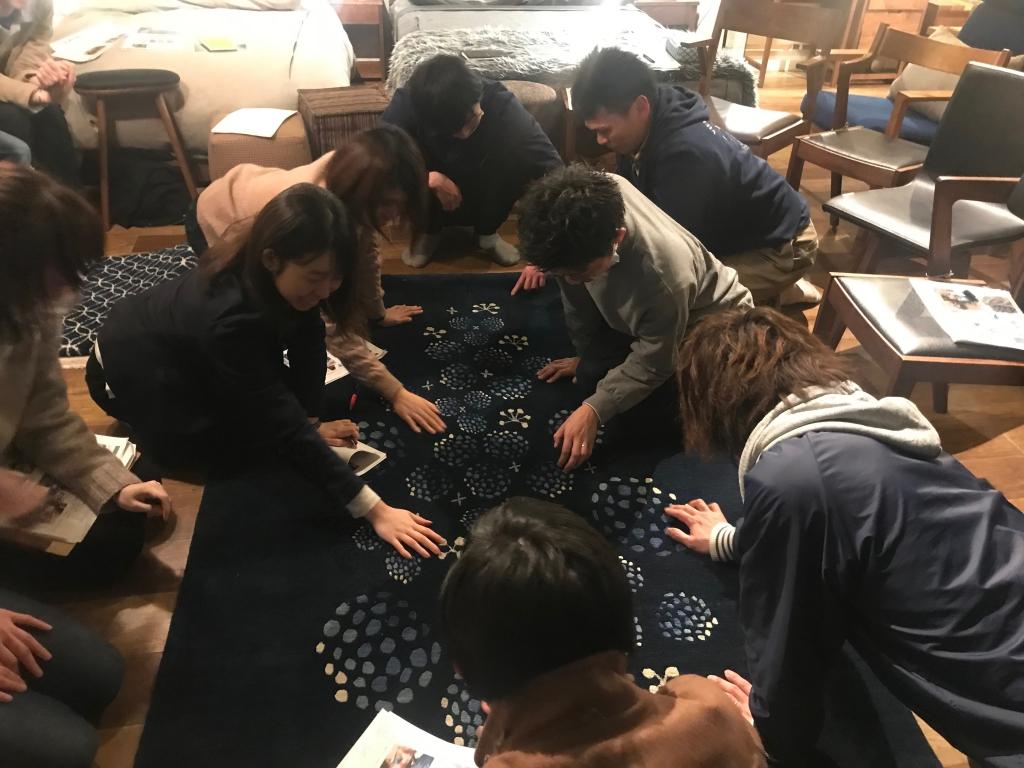 ウールラグ、GOSHIMA絨毯、ミヤモト家具、SOLID