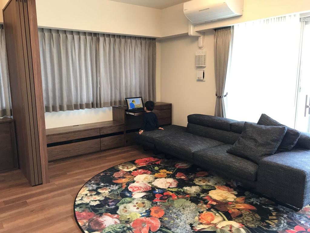 ミヤモト家具、無垢、富山、金沢、家具、オーダー、リビング収納