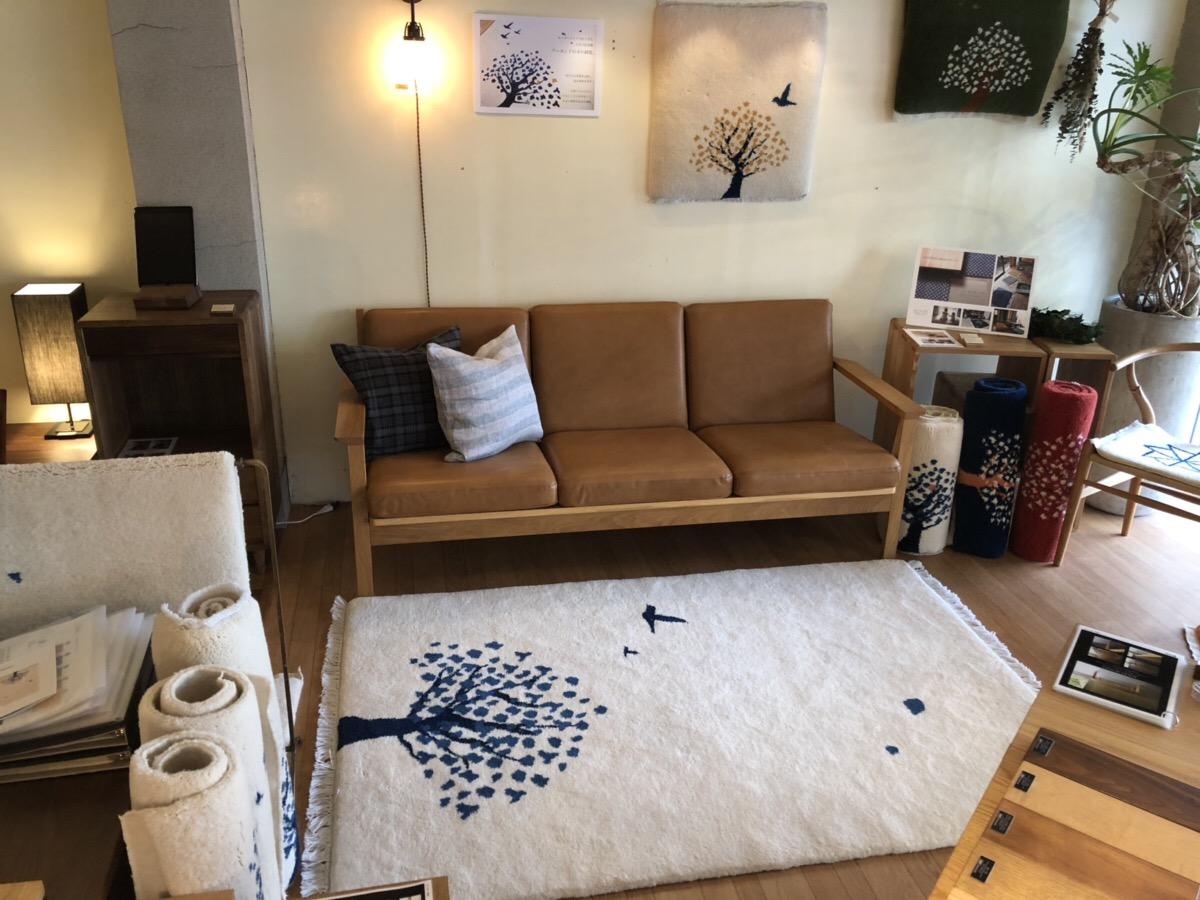 ミヤモト家具、LOWVE、SOLID、富山、金沢、家具、インテリア、雑貨、ラグ、絨毯、GOSHIMA絨毯、イベント