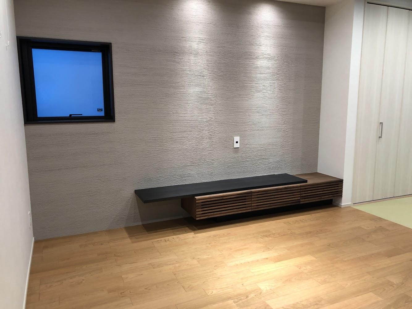 SOLID、ミヤモト家具、富山、金沢、テレビボード、造作、特注