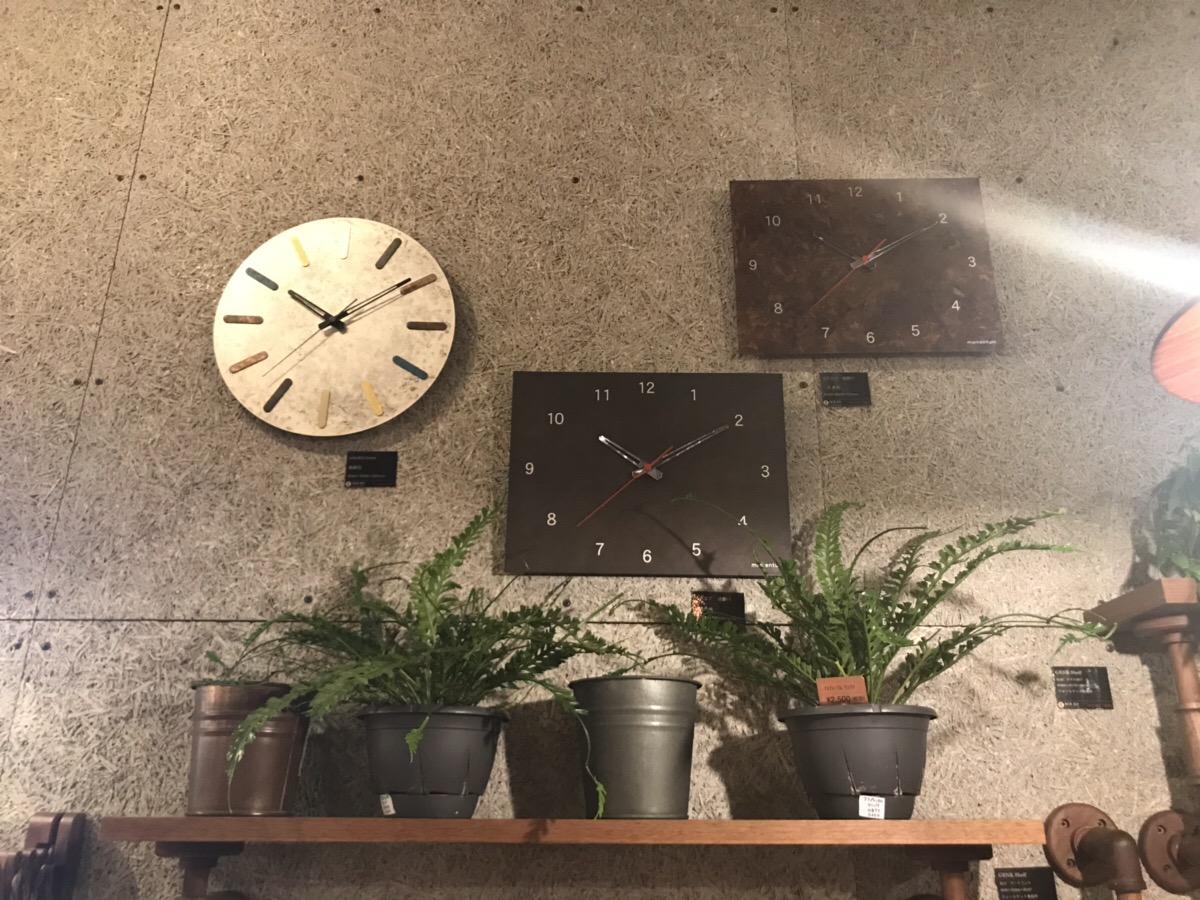 家族の時間を刻む時計