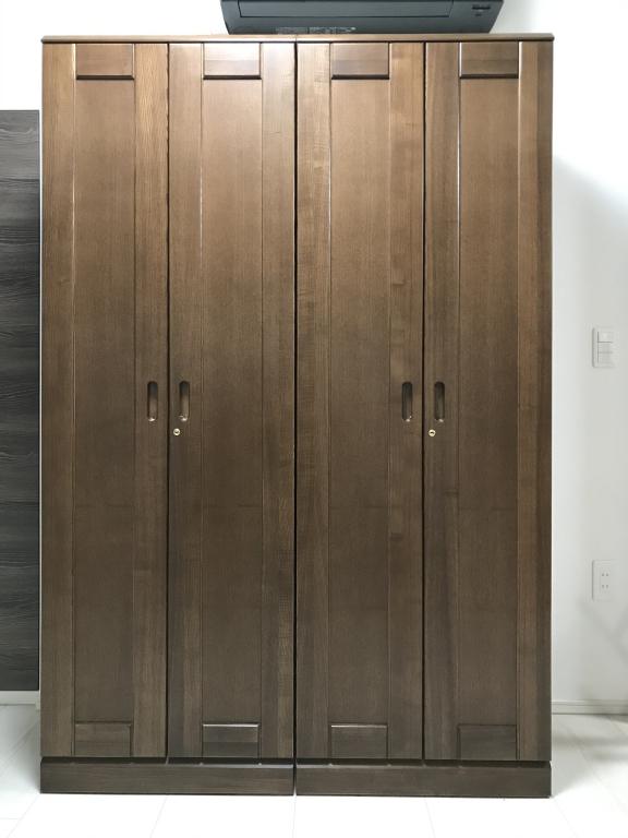 SOLID ミヤモト家具 富山 金沢 無垢材 オーダー ウォールナット 本棚 シェルフ