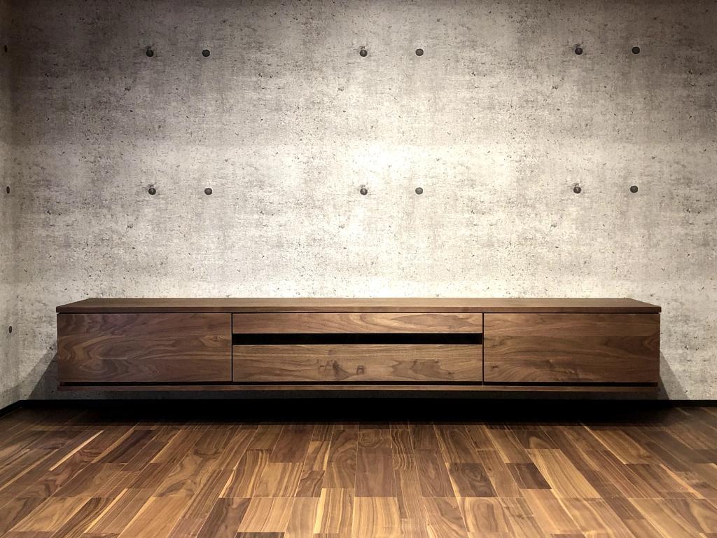 ミヤモト家具 フロート TVボード3